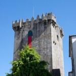 Tower of castle of Braga — Stock Photo
