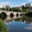 St. Martial's bridge in Limoges, France — Stock Photo