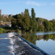 Vienne river in Limoges — Stock Photo