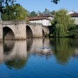Stockfoto: St. Martial's bridge in Limoges
