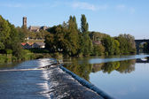 Fiume vienne a limoges — Foto Stock