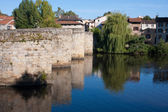 St. Martial Bridge in Limoges — Stock Photo