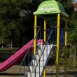 Slide in the park — Stockfoto