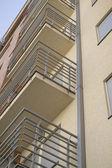 Moderní bytový dům — Stock fotografie