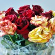 Bouquet of the roses - Foto Stock