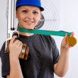 Royalty-Free Stock Photo: Girl athlete