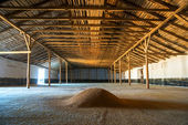 Premises for keeping grain — Stock Photo