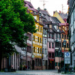 Weißgerbergasse Nuremberg — Stock Photo