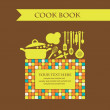 Cookery card. Vector illustration — Stockvectorbeeld