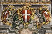 Saray fresco — Stok fotoğraf