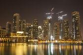 Dubai city at night — Stock Photo