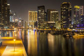 Dubai Marina district — Stock Photo
