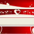 Royalty-Free Stock Vector Image: Valentine internet banners