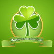 St. Patrick Day card — Stockvectorbeeld