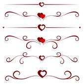 Vector illustration of valentine — Stock Vector
