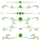 St. Patrick day pattern — Stock Vector