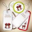 Set of bubbles, stickers, labels, tags. Vector template — Stock Vector #12463474