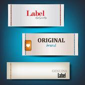 Set di adesivi, etichette, bollicine, tag. modello vettoriale — Vettoriale Stock