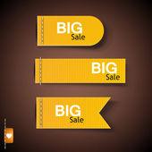 Set van bubbels, stickers, etiketten, tags. vector sjabloon — Stockvector