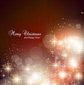 Elegant christmas achtergrond met sneeuwvlokken en plaats voor tekst. — Stockvector