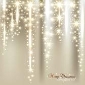 优雅圣诞背景与雪花和文本的地方. — 图库矢量图片