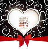 Gift card. Valentine — Stock vektor