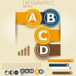 Set of Infographic elements.  Design template.  — Stockvectorbeeld
