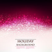 Elegant Holiday Red background with place for text. Vector Illu — Stock Vector