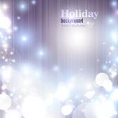 Natal elegante brilhando fundo com flocos de neve e lugar f — Vetorial Stock