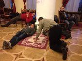 Ukrayna Avrupa entegrasyonu için protesto. devrim Karargahı. kiev Ukrayna euromaidan. meydan nezalezhnosti. Kiev şehri egemen yönetim. — Stok fotoğraf