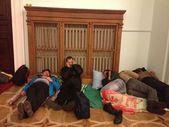 Protest integracji europejskiej na Ukrainie. w siedzibie rewolucji. euromaidan w Kijowie na Ukrainie. Maidan nezalezhnosti. suwerenne administracji Kijowa. — Zdjęcie stockowe