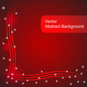 Red vector abstract background — Stock Vector