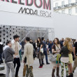 Moda Lisbon fashion show gathering — Stock Photo