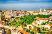 Old Lisbon view — Stock Photo