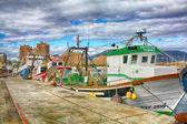 Fisch-trawler — Stockfoto