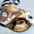 Venice carnival masks with shining stars — Stock Photo #19379007
