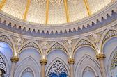 Beautiful cupola inside Monserrate in Sintra. Portugal — Stock Photo