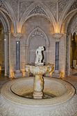 Beautiful fountain inside Monserrate in Sintra. Portugal — Stock Photo