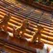 Traditional Chinese style eaves — Stock Photo