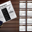 Business calendar of 2013 — Stock Photo