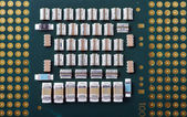 Computer processor close up — Stock Photo