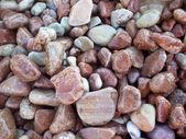 Kiesel steine hautnah. — Stockfoto