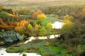 日落河 mertvovod — 图库照片
