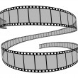 Stock Photo: Film reel 3d