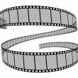 Film reel 3d — Stock Photo