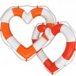Heart Lifebuoy — Stock Photo