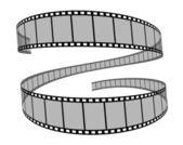 Film reel 3d — Stock Photo