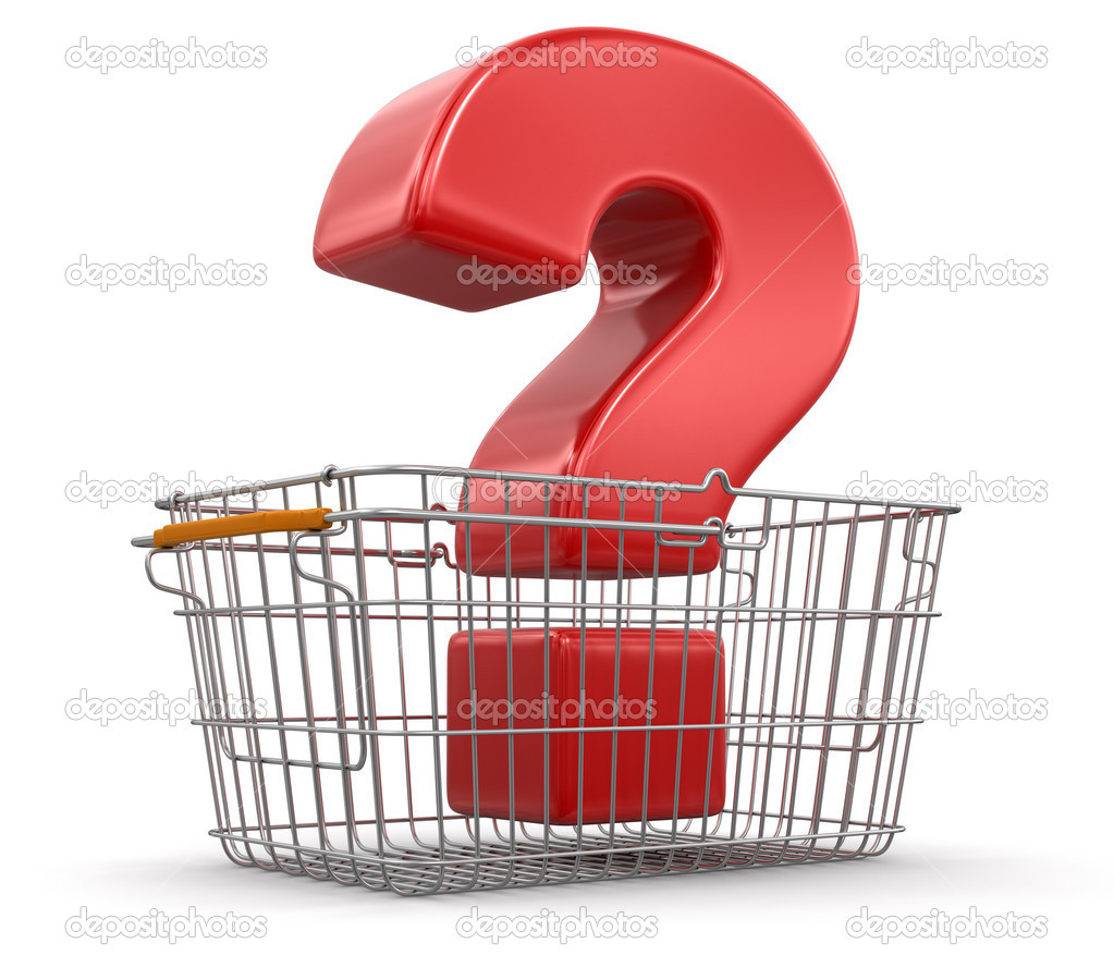 question mark in shopping basket stock photo copy  question mark in shopping basket stock photo 31777029 qquestion mark in shopping basket customer service