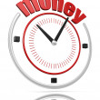 Money time — Foto Stock