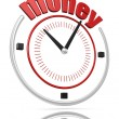 Money time — Stock fotografie
